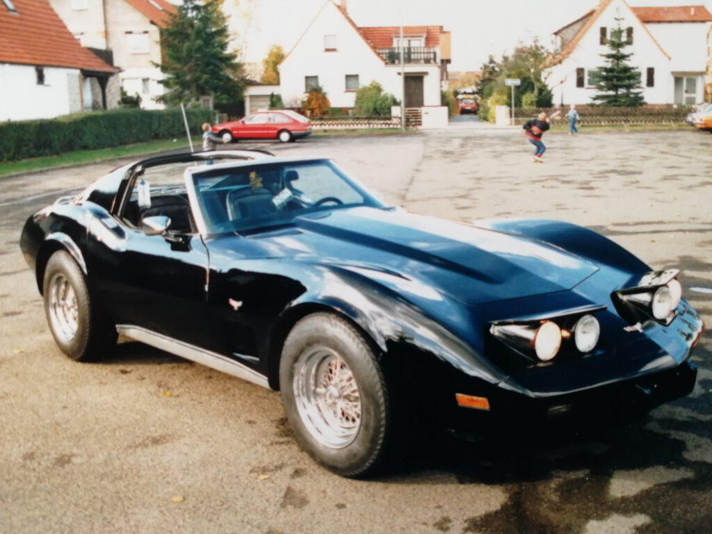 Meine Corvette Baujahr 1977