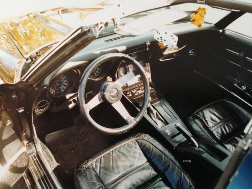 Interior der Corvette