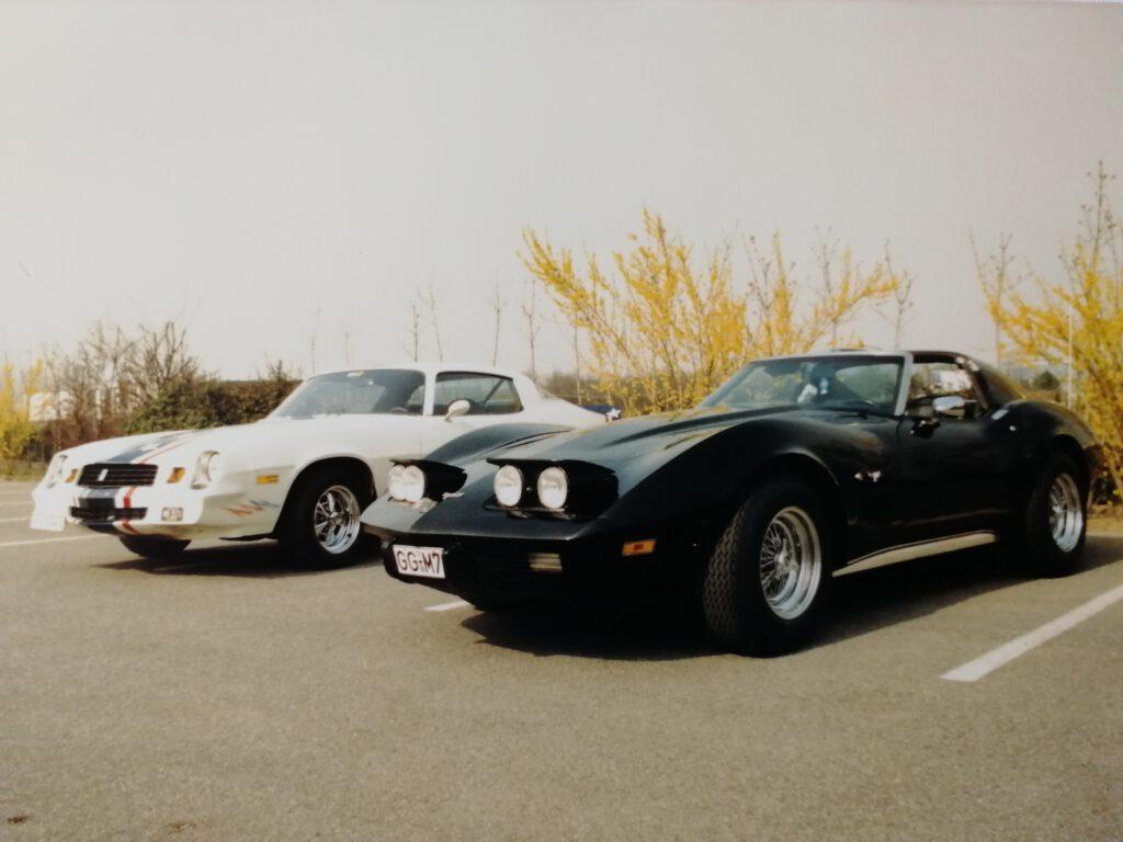 """""""Midnight Star"""" und Corvette"""